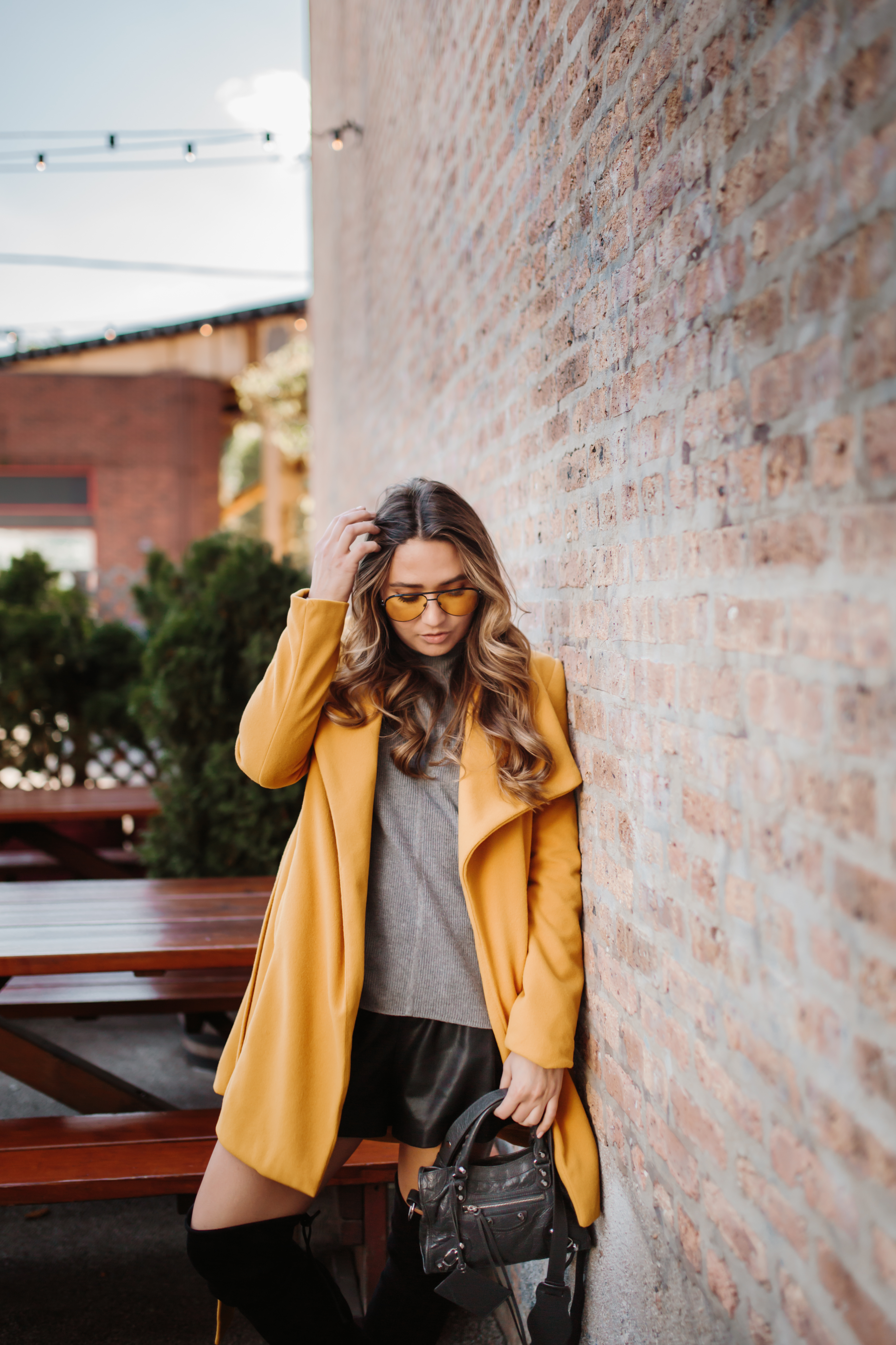 mvmt-sunglasses-maverick-yellow-mustard-coat-over-the-knee-boots-generation-bliss-turtleneck-sweater-fall-outfit-inspo
